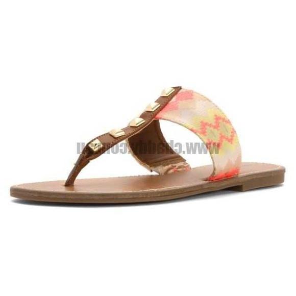 ab3275dba9275 Indigo Rein Shoes - INDIGO REIN GIXIE THONG SANDAL SIZE 10
